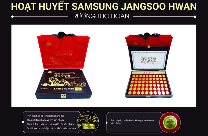 Trầm Hương Nhung Hươu Samsung Jangsoo Hwan 60 Viên