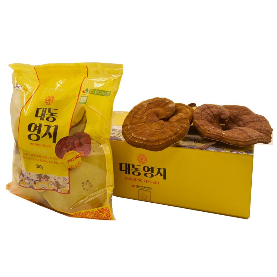 Nấm Linh Chi Thượng Hạng Daedong Hộp 1kg