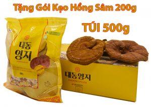 Nấm Linh Chi Thượng Hạng Daedong Túi 500g